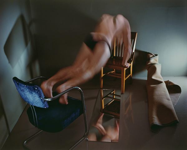 Man doing Push-ups, 1984  by Jo Ann Callis