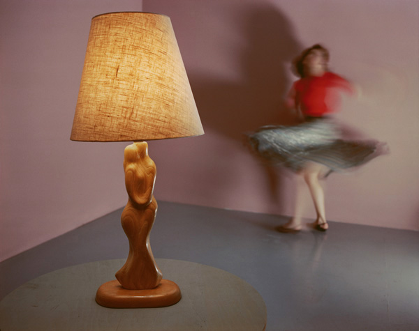 Woman Twirling, 1985  by Jo Ann Callis