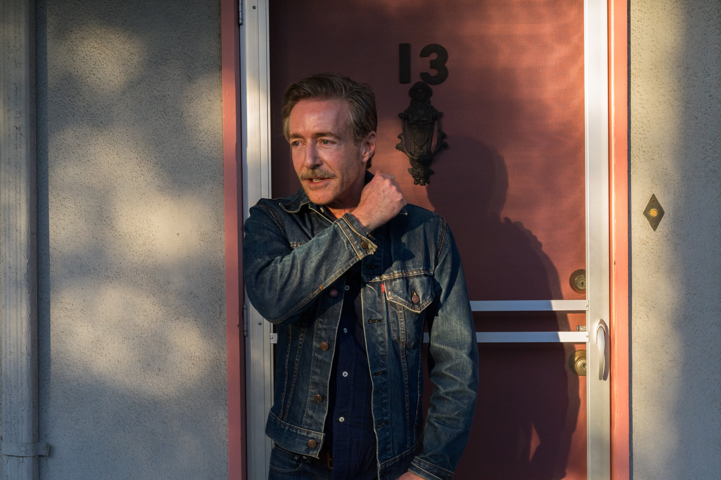 Jeff Burton, Silver Lake, Los Angeles, CA, 2019.  Photo by Jordan Weitzman