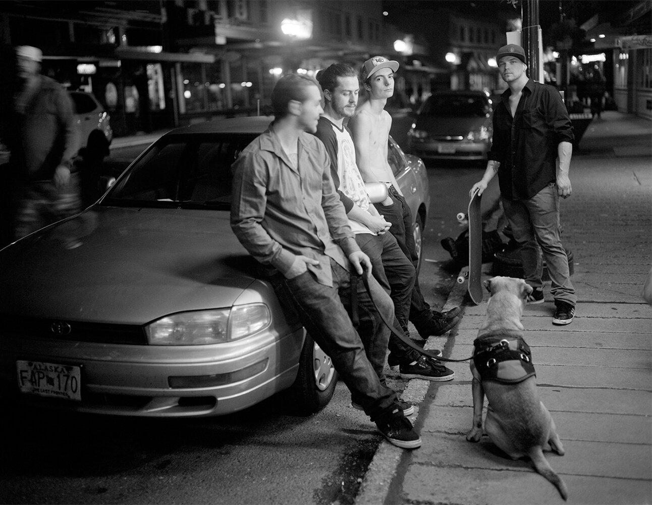 Front Street Guys - Juneau, Alaska 2017  by Patrice Aphrodite Helmar