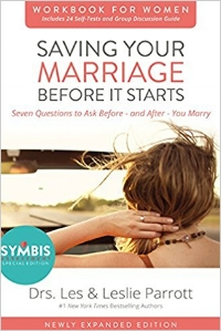 Saving Your Marriage before it starts workbook for women   Drs. Les & Leslie Parrott