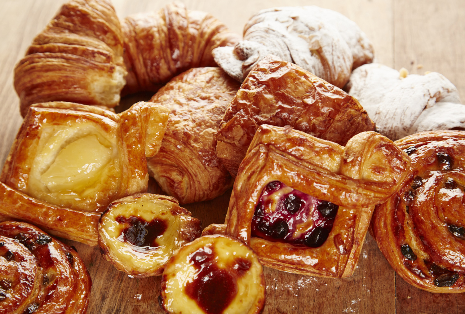 Boulangerie Jade Selection Of Pastries