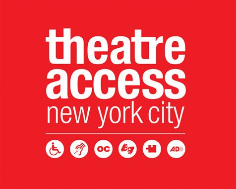 theatre access logo