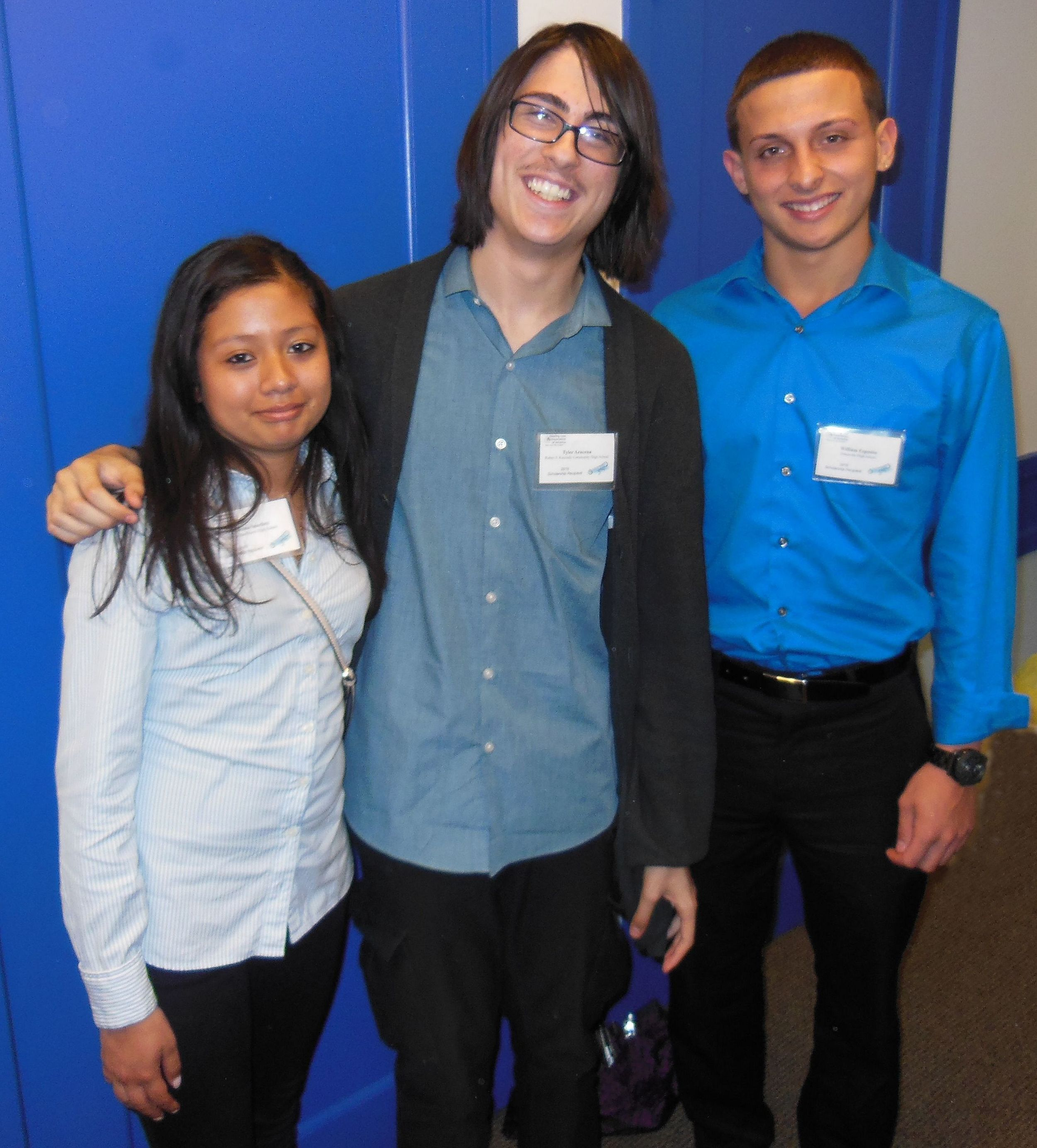 2015 HLAA-NYC Scholarship recipients