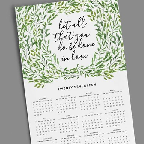 Excited to announce that we now have an online shop! (Link in bio) More items coming soon 🤗 11x17 wall calendars now available + all proceeds go towards Luna & Matts IVF fund ❤️👶🏻 • • • • • • • #2017calendar #WeddingInspiration#Calendar#infertilitysucks#Stationery#infertility#Invitation#infertilitysupport#infertilityawareness#PaperLove#ivfjourney#PaperGoods#Lovely#IVF#Florals#inspiredbythis#beautiful#infertilitystory#WeddingInvitations#Utah#Invitations#IVFsupport#thenativecreative#wallcalendar#thatsdarling#annoucements