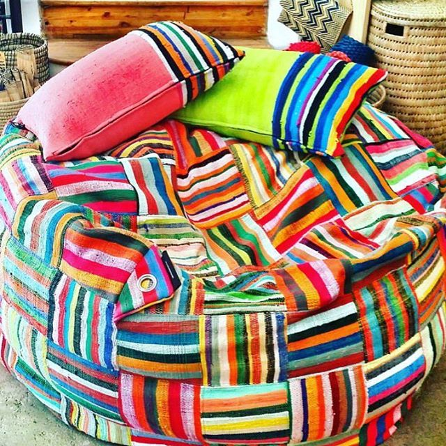Ashanti Bean Bag and Pillows.jpg