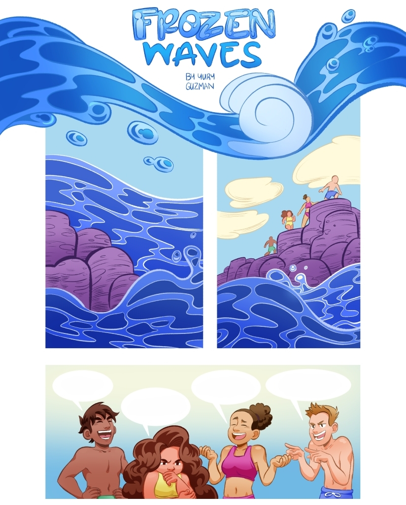 Frozen Waves  (Commissioned Comic)
