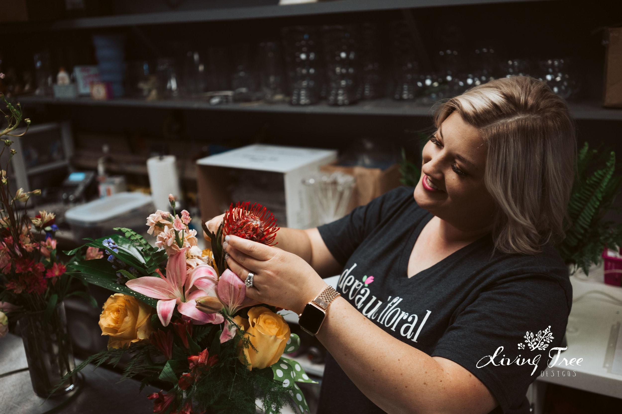Jenni Lemons - Owner/Creative Guru Devault Floral