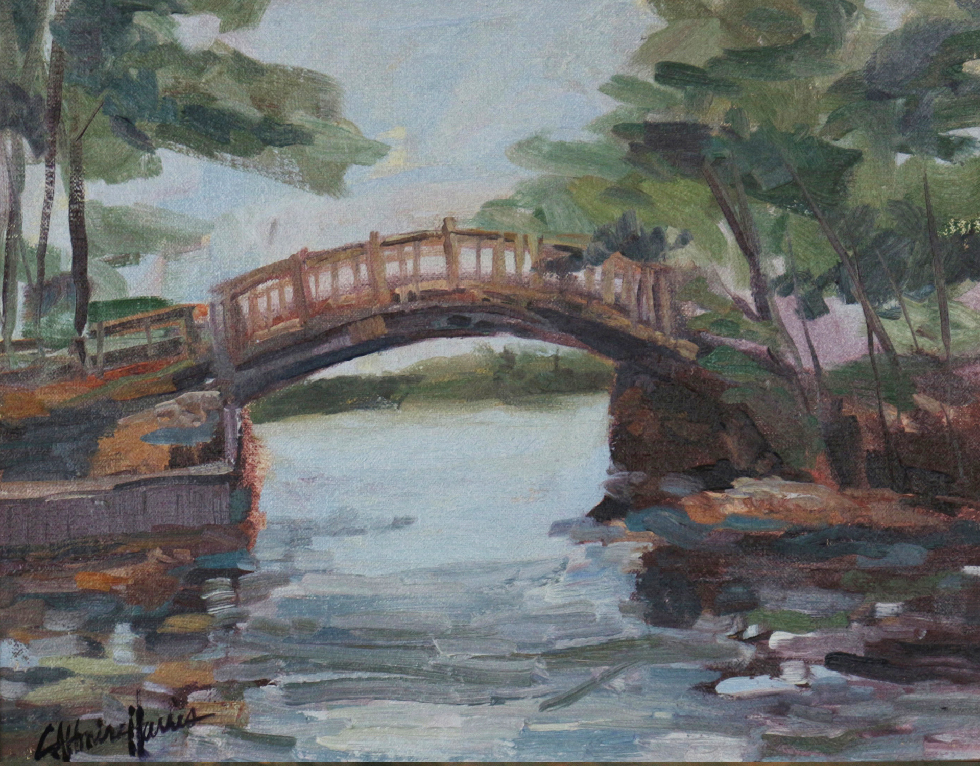 Brantingham Bridge to the Lily Pond