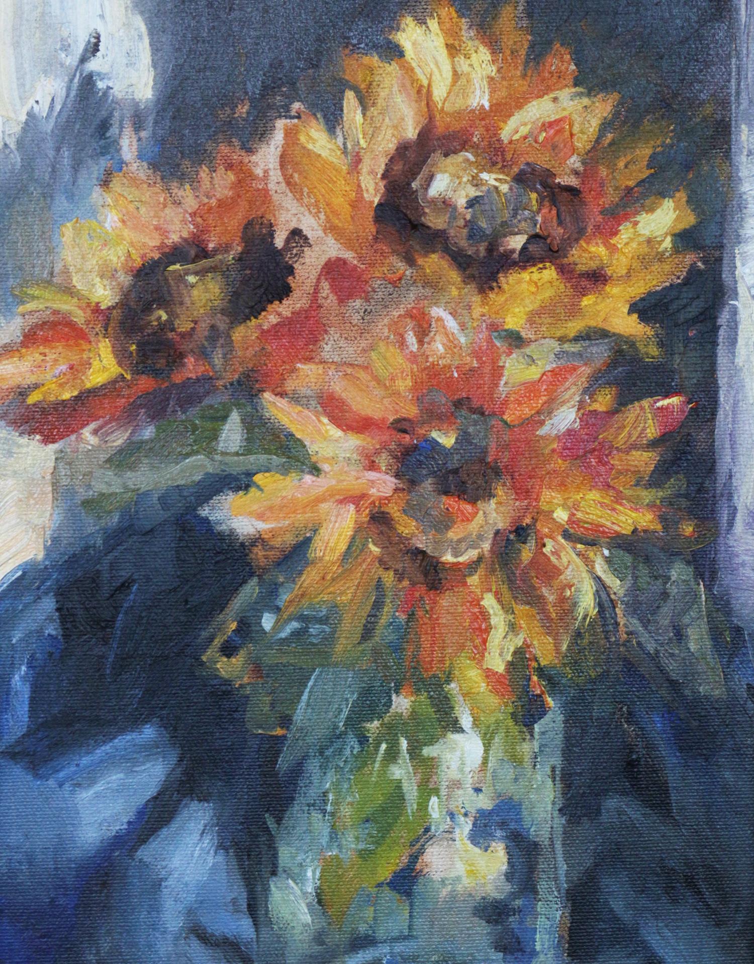 Sunflowers for Silvana