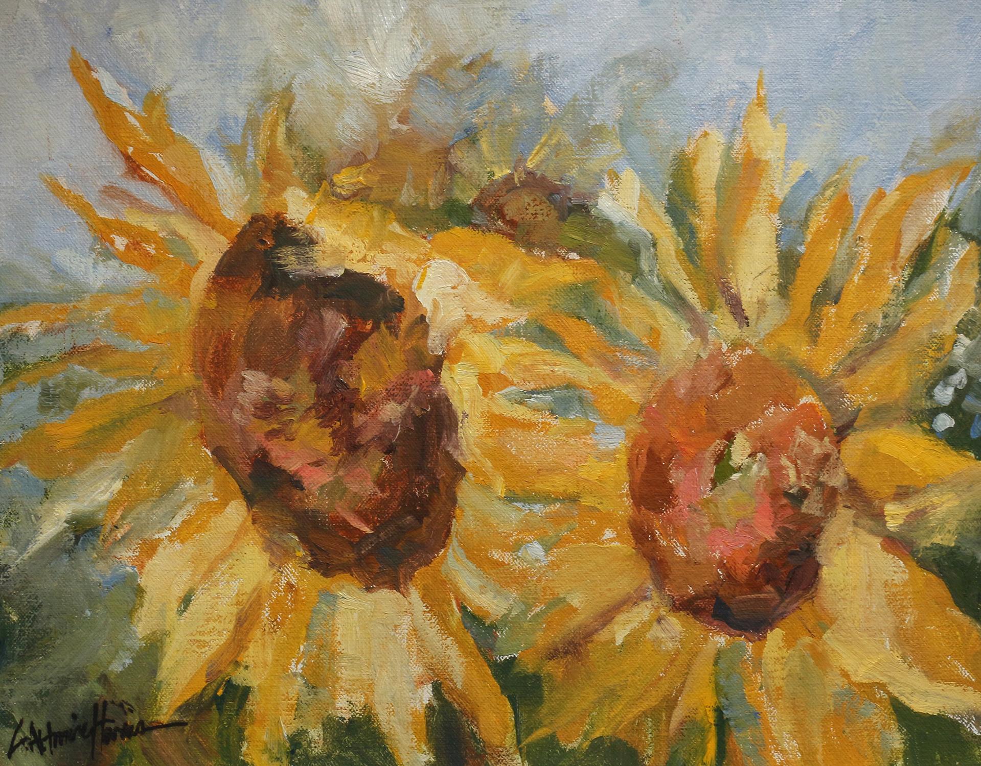 Emma's Sunflowers*