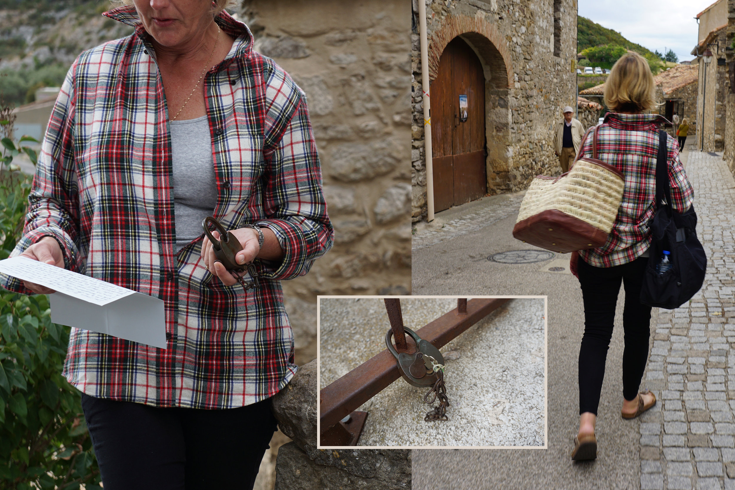 Letting Go at the Dove of Minerve