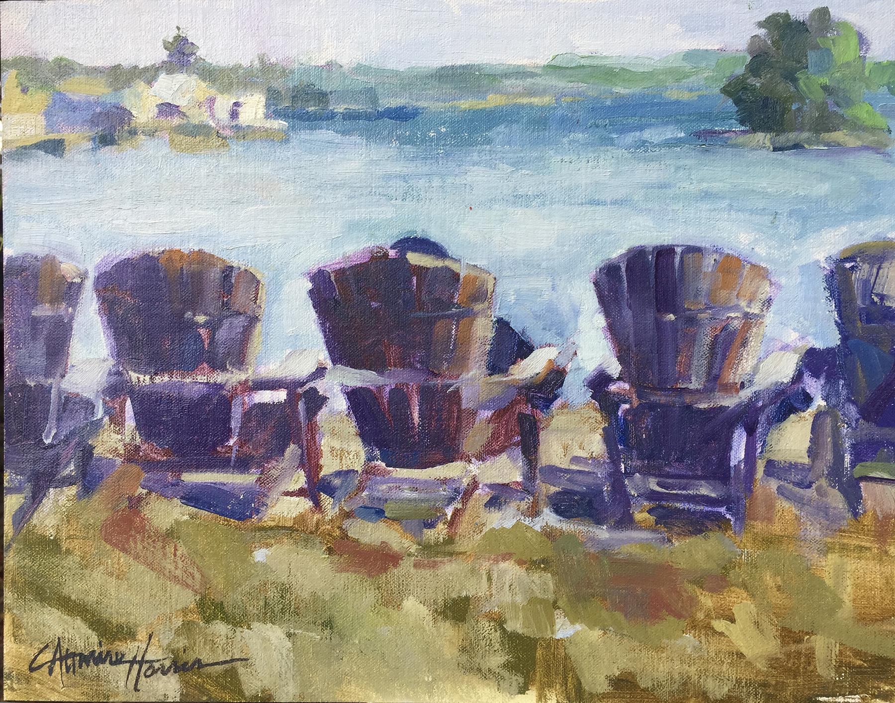 Adirondack Chairs at The Inn*