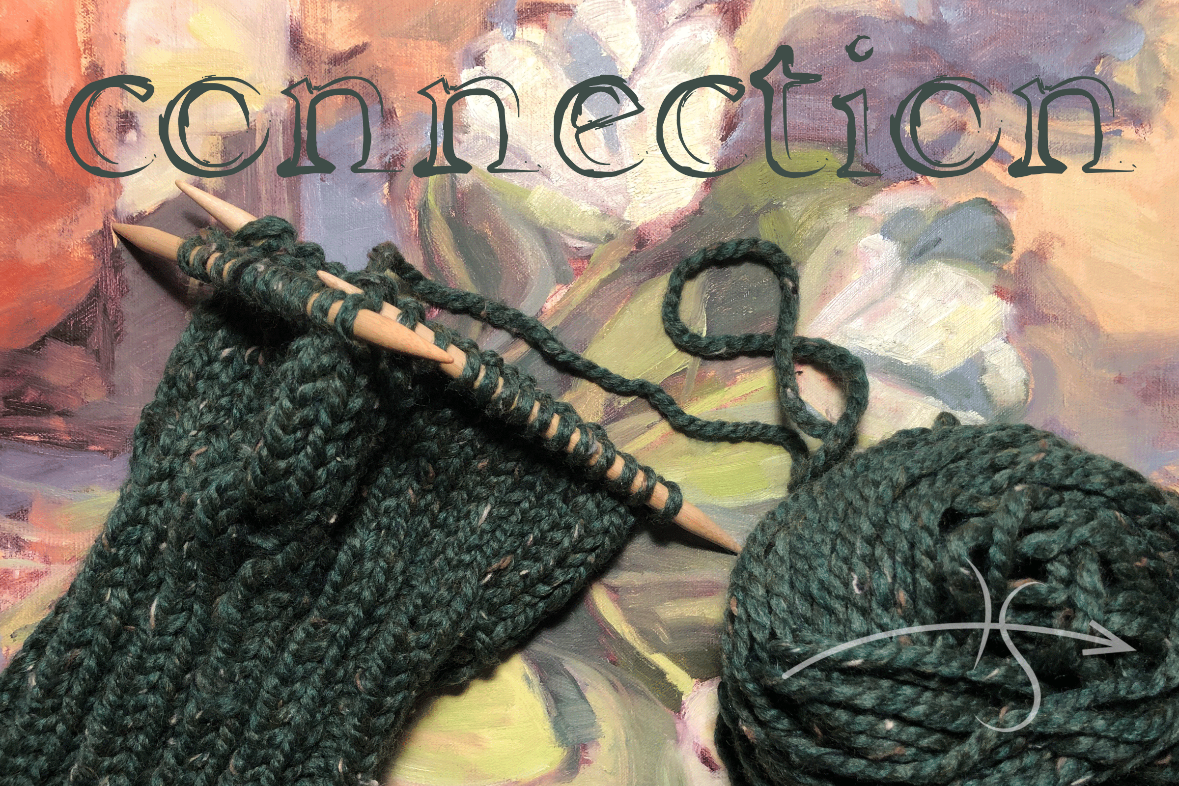 Loops and twirls: How my love of knitting reminds me of the importance of connection with others