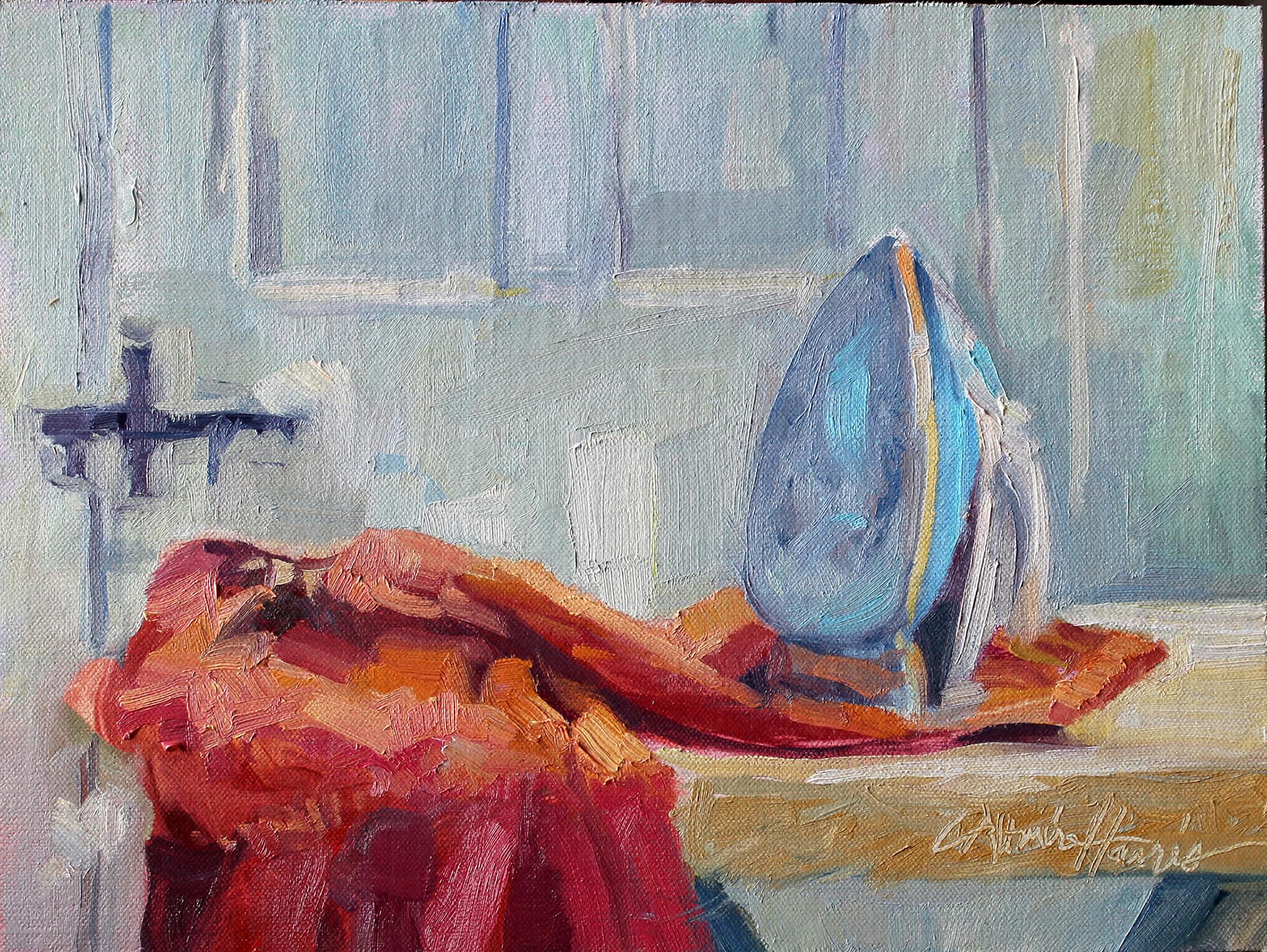 Ironing on a Sunday*