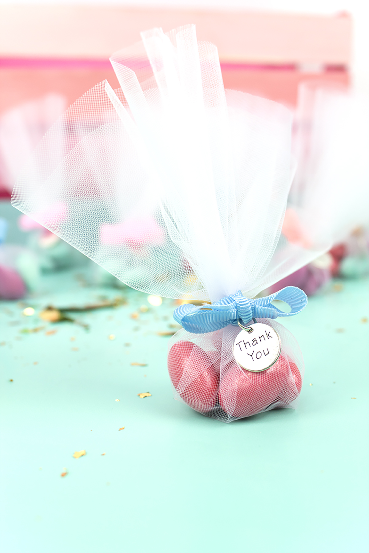 Jordan Almonds don't have to be boring! Click to see how I added a modern twist to this traditional wedding element, along with 2 other ideas to add a pop of color to your wedding!