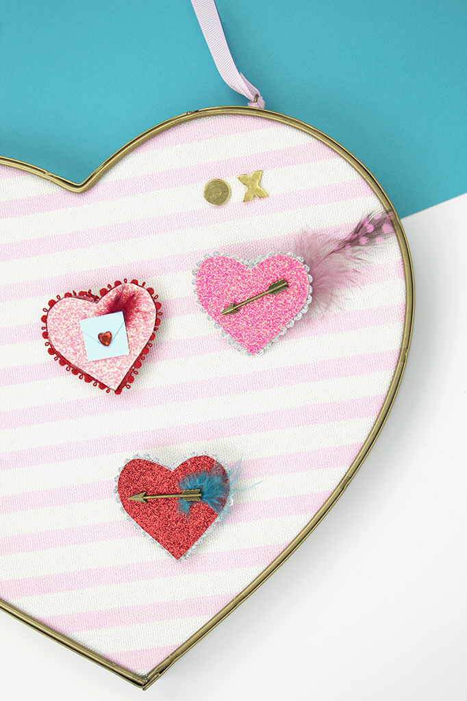 Valentine's Day Cupid's Arrow Pins
