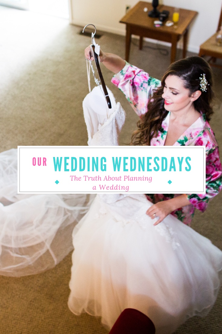 Forget wedding planning advice- learn the truth about planning a wedding! I've got the low-down on budgets, expectations, and timing. Read along to get advice, or at least find someone who gets you! #weddingplanning