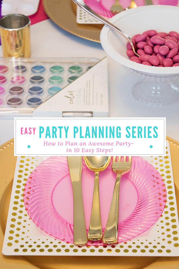 Looking for some party planning tips? Well, I've got 10! Learn how to plan a party from start to finish, including picking a theme, creating a checklist, and planning your menu!  #partytheme #partychecklist #partyplanning