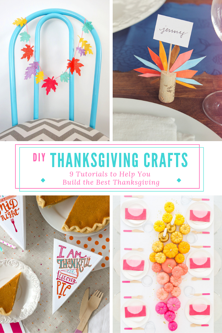 Towards the end of the year, it seems like we barely have a minute to rest. You've got to start early if you want to come out ahead! I've rounded up some of my favorite Thanksgiving DIY's to give your table the colorful makeover it deserves. Click to read more! #thanksgiving #colorfulthanksgiving