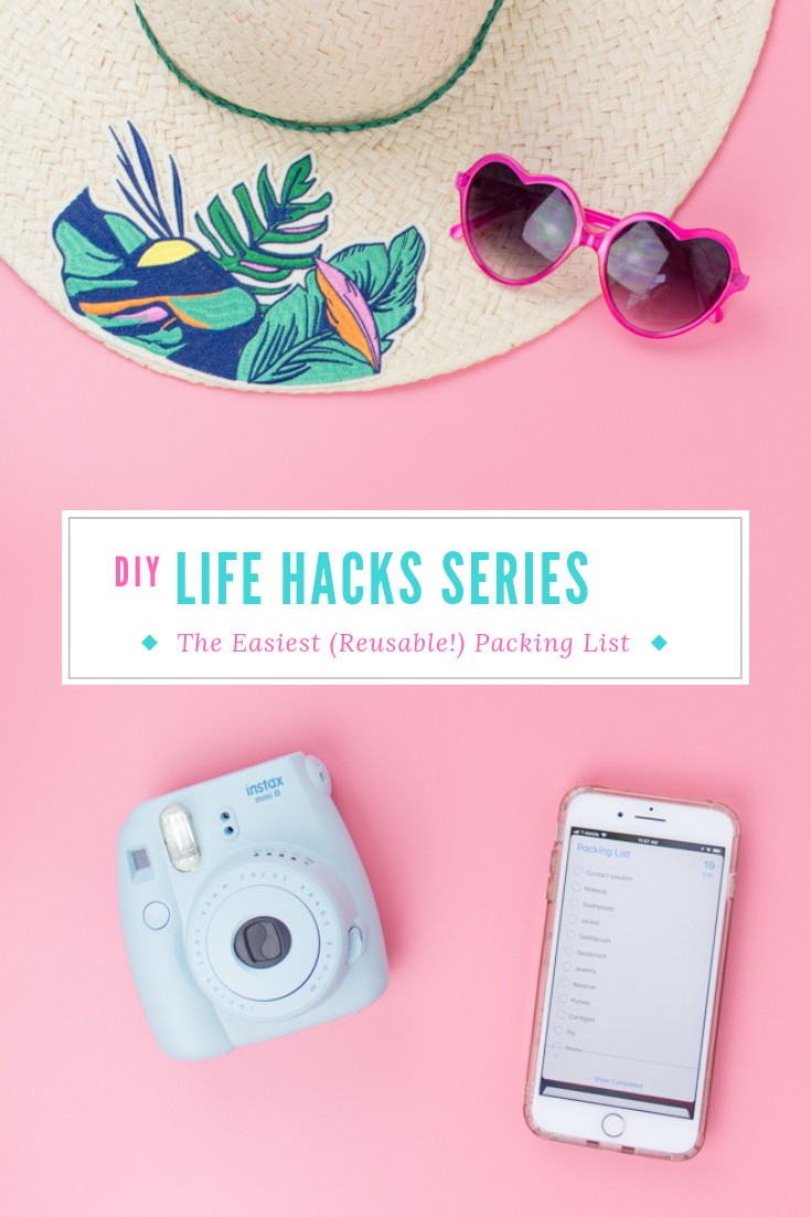 Never forget anything again! I have a packing hack that surpasses alllll the packing hacks. And the best part is that all you'll need is your iPhone or iPad. It's totally free, and really easy to use. Click to read more, along with some bonus features! #packinglist #travelhacks #packinglistfortravel