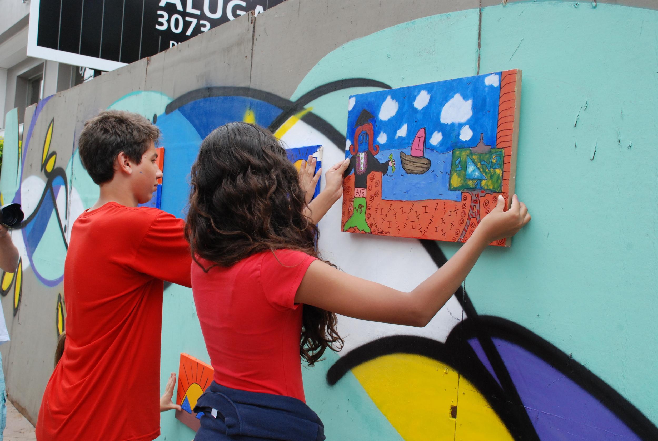 7ª e 8ª séries - mais arte nas ruas