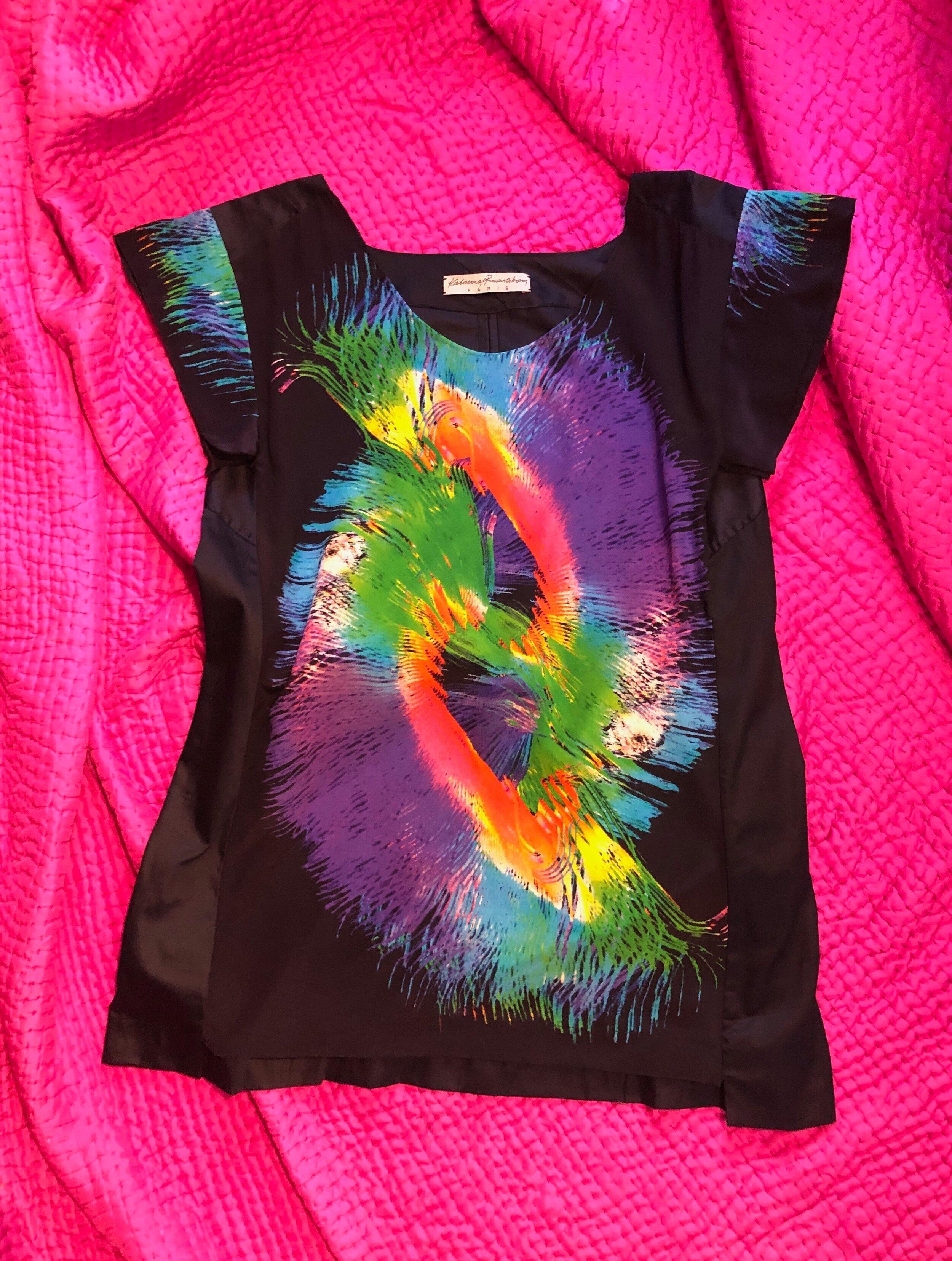 MRI T-SHIRT DRESS