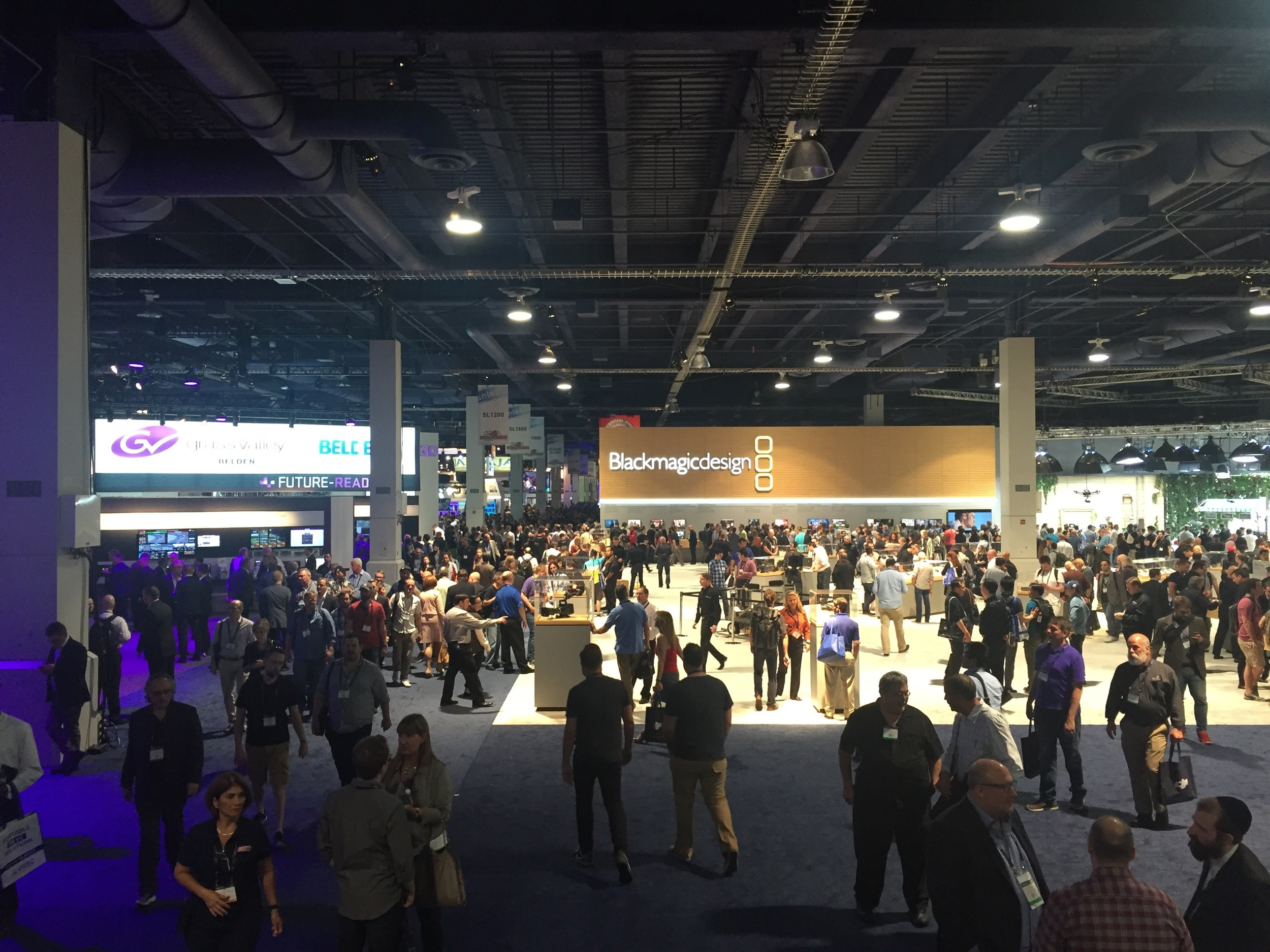 Las Vegas Convention Center South Lower Hall during NAB Show 2016