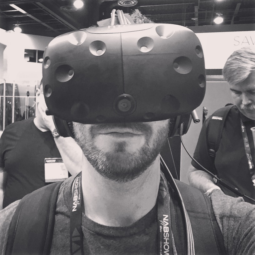 Looking at Nokia OZO footage with the HTC Vive headset