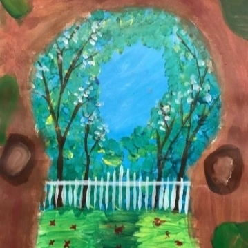 Youth Art Month - March 2 - March 28, 2018Student work displayed