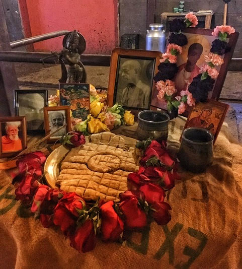 Wild Church altar   photo by Michael Iafrate