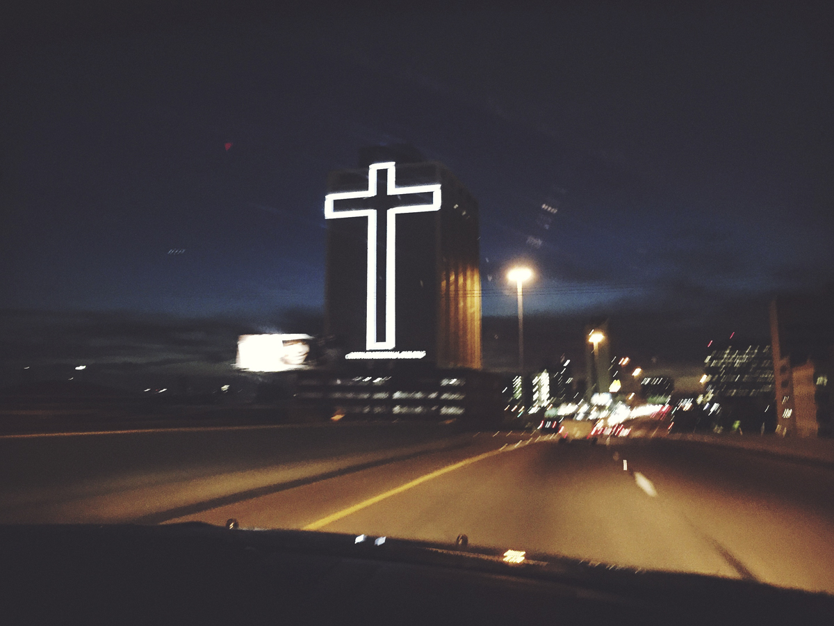 Crucifix in Houston