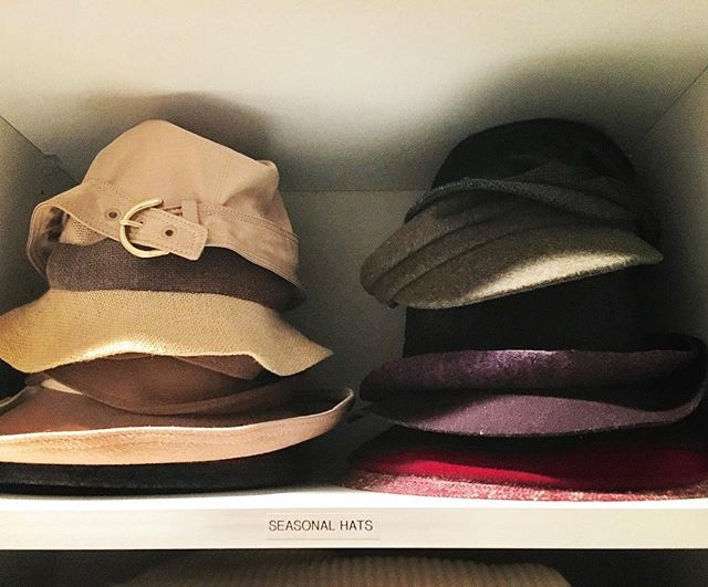 Give yourself limits on the amount of items you can store. One shelf for hats, one box for photos, one bin for scarves. You get to decide on the size of limit but it will help keep the endless amounts to a minimum.