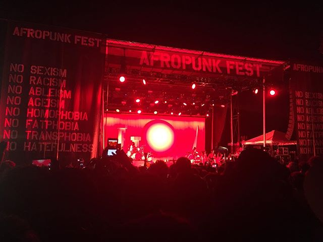 Festival season is our favorite! What a weekend! @afropunk has not disappointed, from the fun style watching to the amazing acts! We love ATL + it's live experiences! ✨🎼🎤🎸🥁