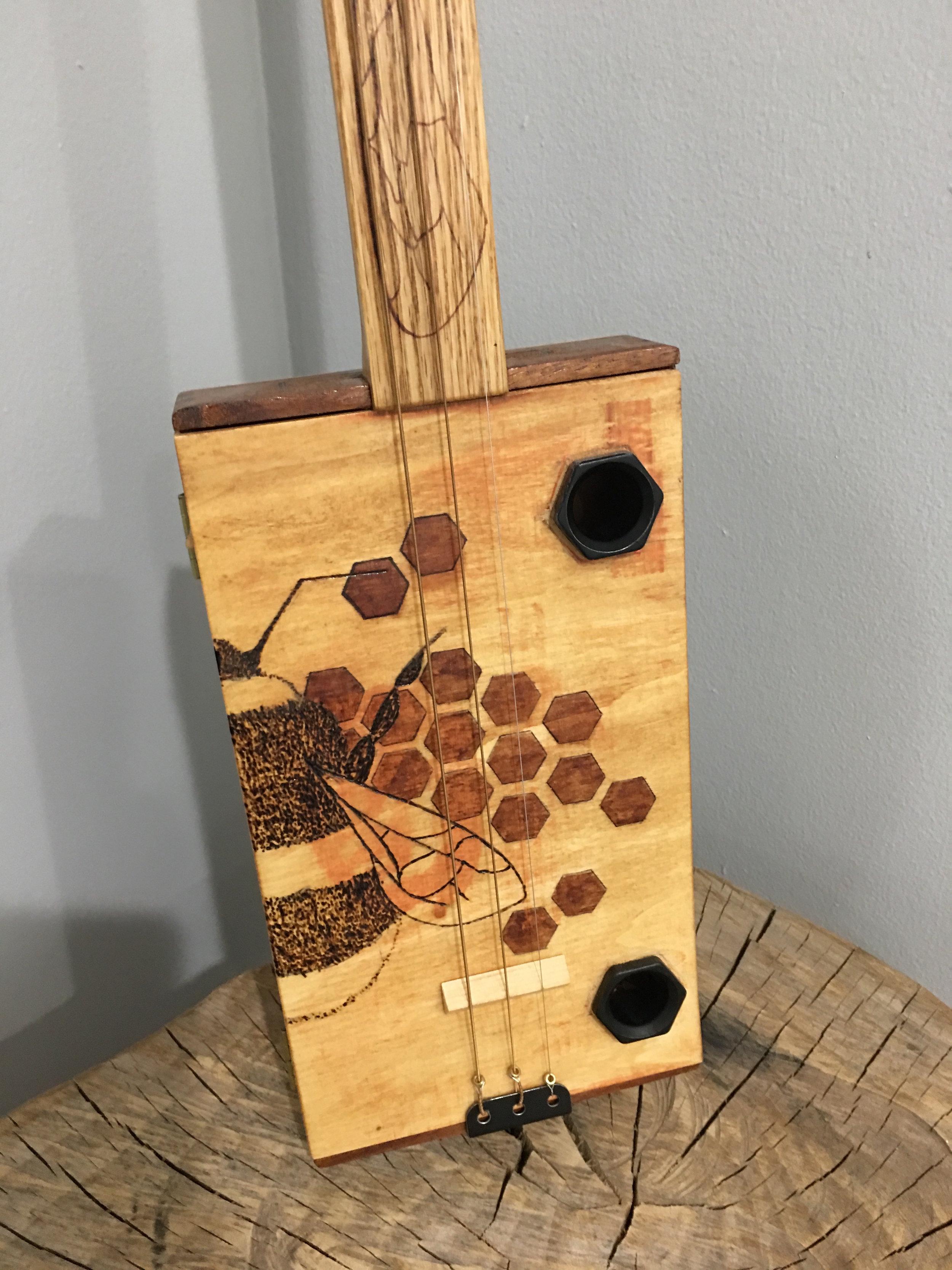 CIGAR BOX GUITAR $250