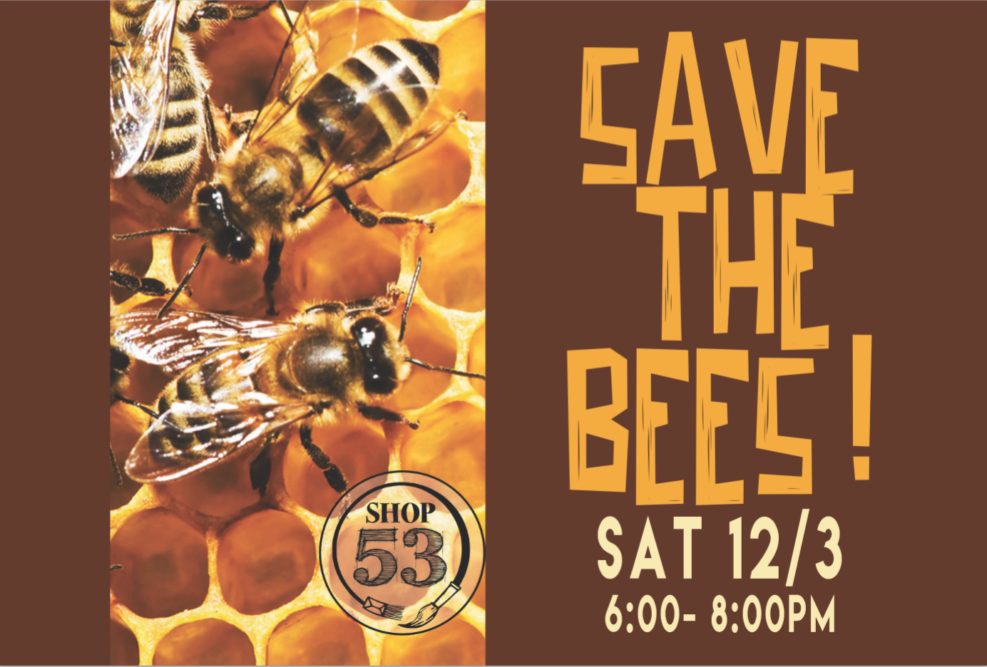 SAVE THE BEES WINTER 2017
