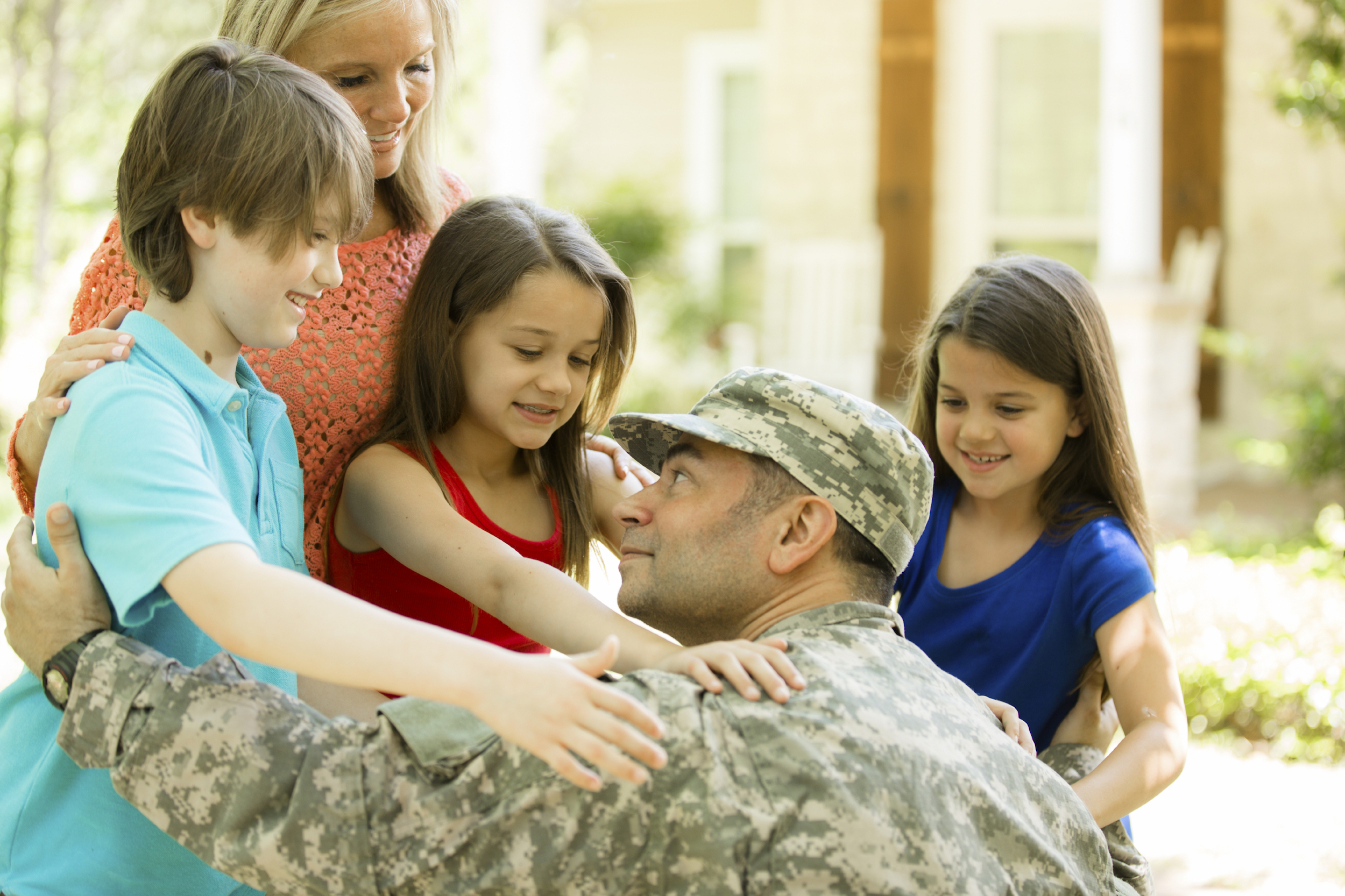 Give - show our nation's heroes that you care and make a direct, lasting impact on their lives.