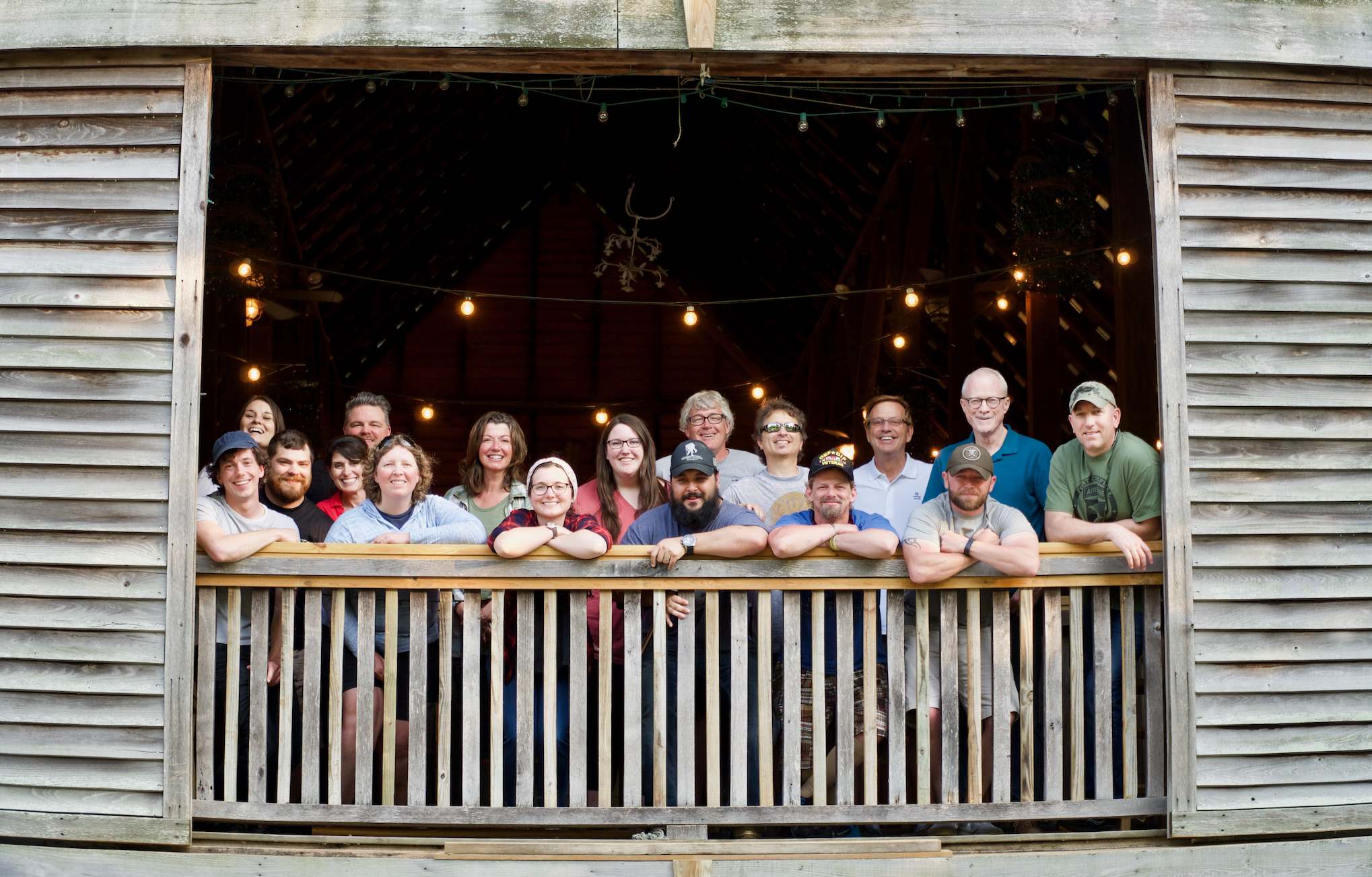 Participants, songwriters, and staff for our inaugural Nashville Music Therapy Retreat.