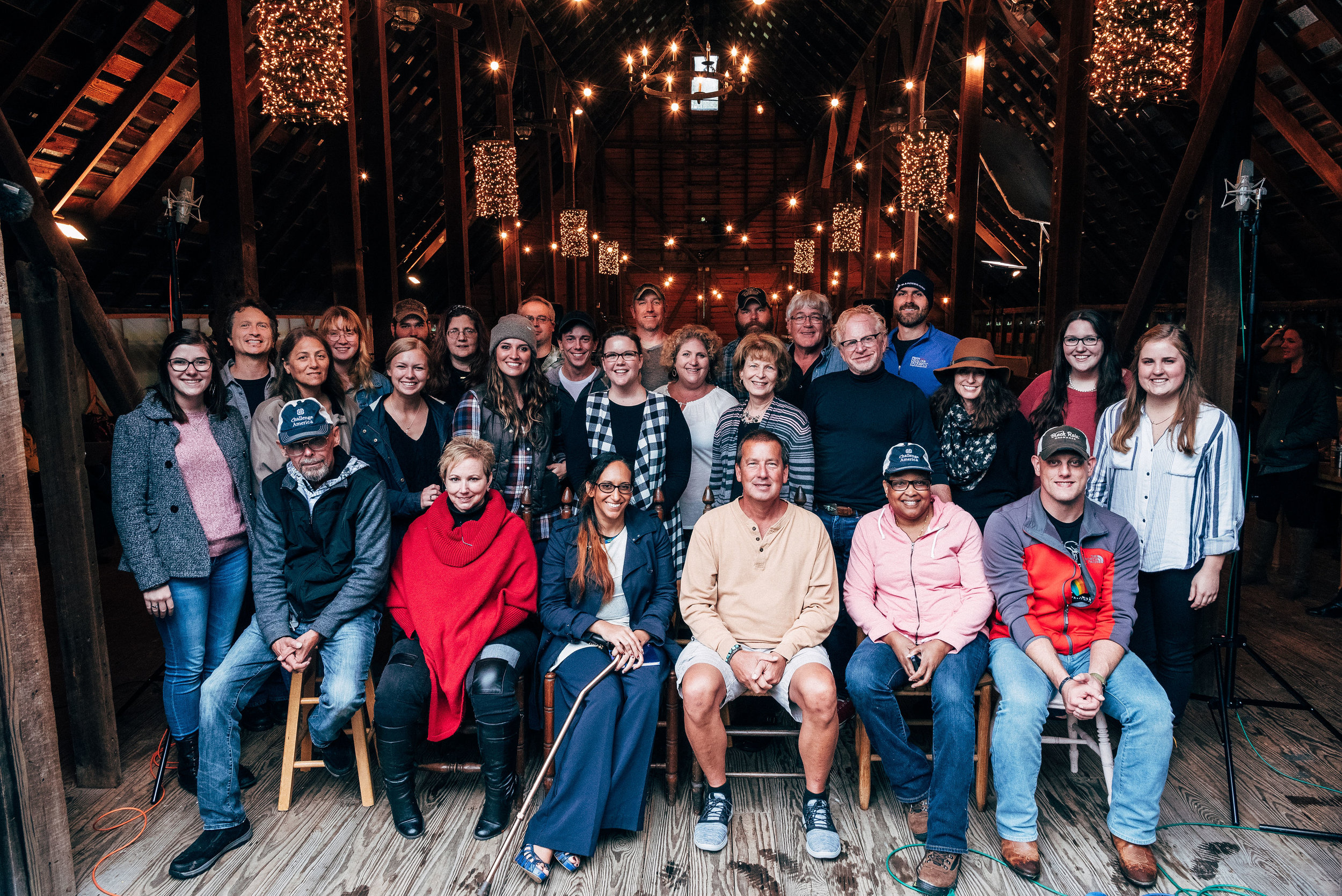 Veterans Music Therapy Retreat participants. October, 2018