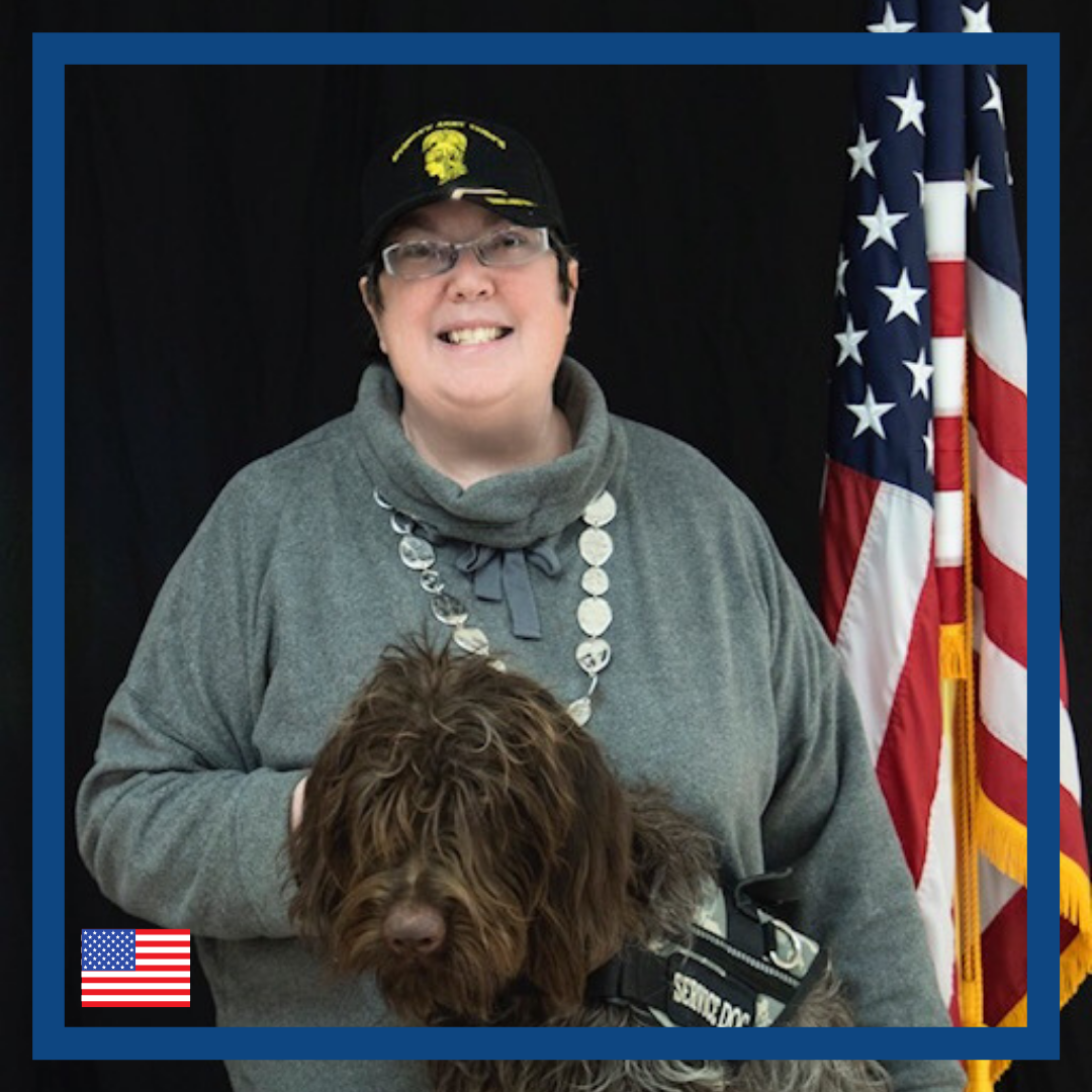 Ginger is looking for tech companion to combat PTSD symptoms throughout her day.   Ginger struggles with PTSD due to Military Sexual Trauma and would like to have a technological solution that provides coping mechanisms at the right moments to guide her through her day.