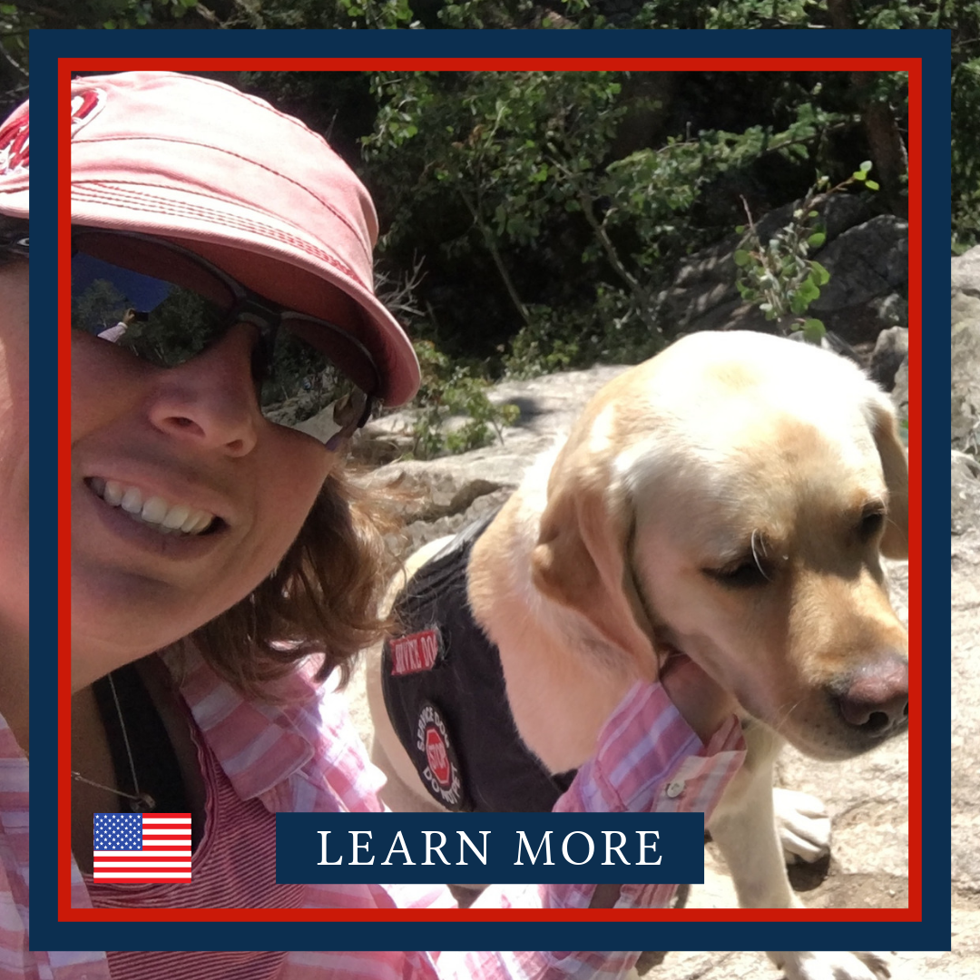 TEAM ANNMARIE: Biking with her service dog   Air Force Veteran, AnnMarie used to race bikes and competed in triathlons, but stopped riding after she got her service dog, Leigh Ann. Her goal is to get back on her bike, but she needs a solution that would allow Leigh Ann to accompany her safely.