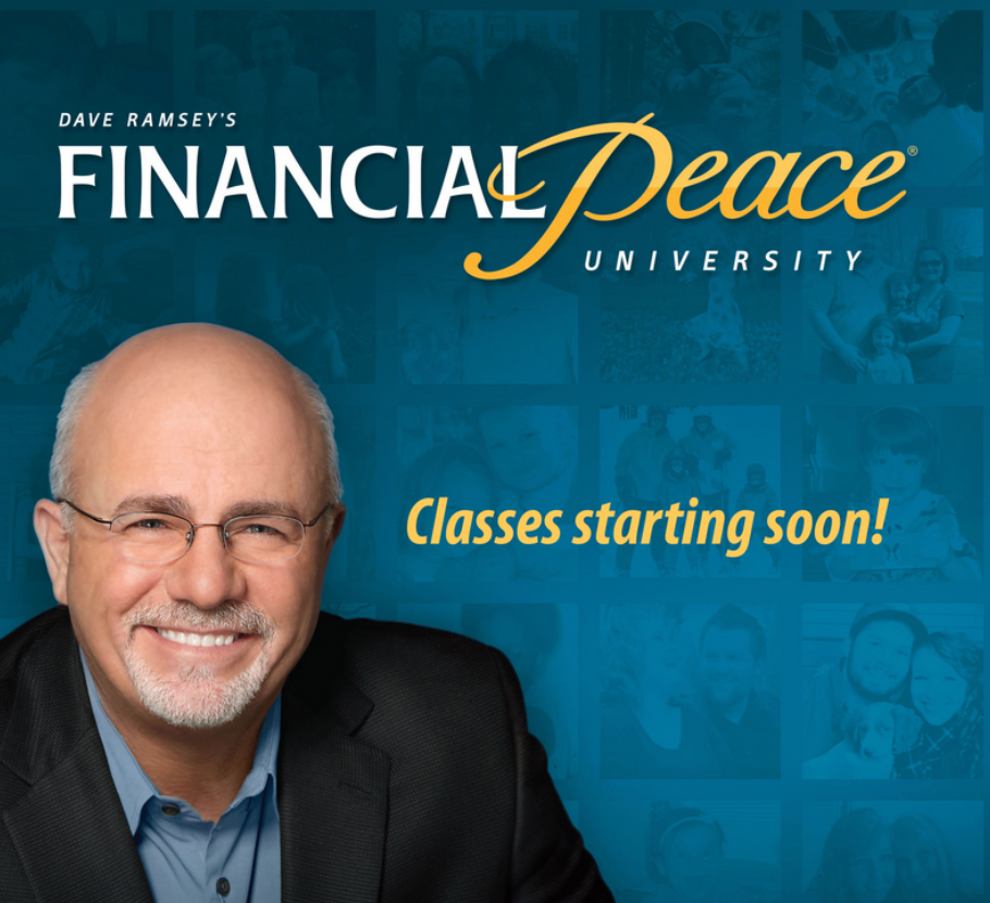 - If you would like to attend a Financial Peace University Course, fill out the form here.