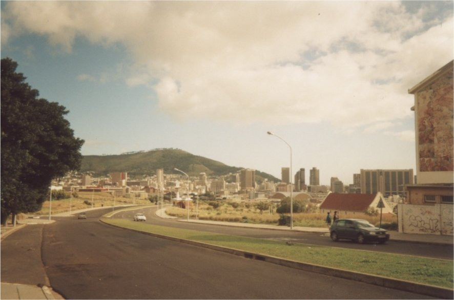 An image I took of District Six when I was twenty-three.