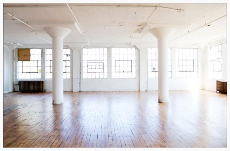 My studio in the Northrup King Building, Northeast Minneapolis