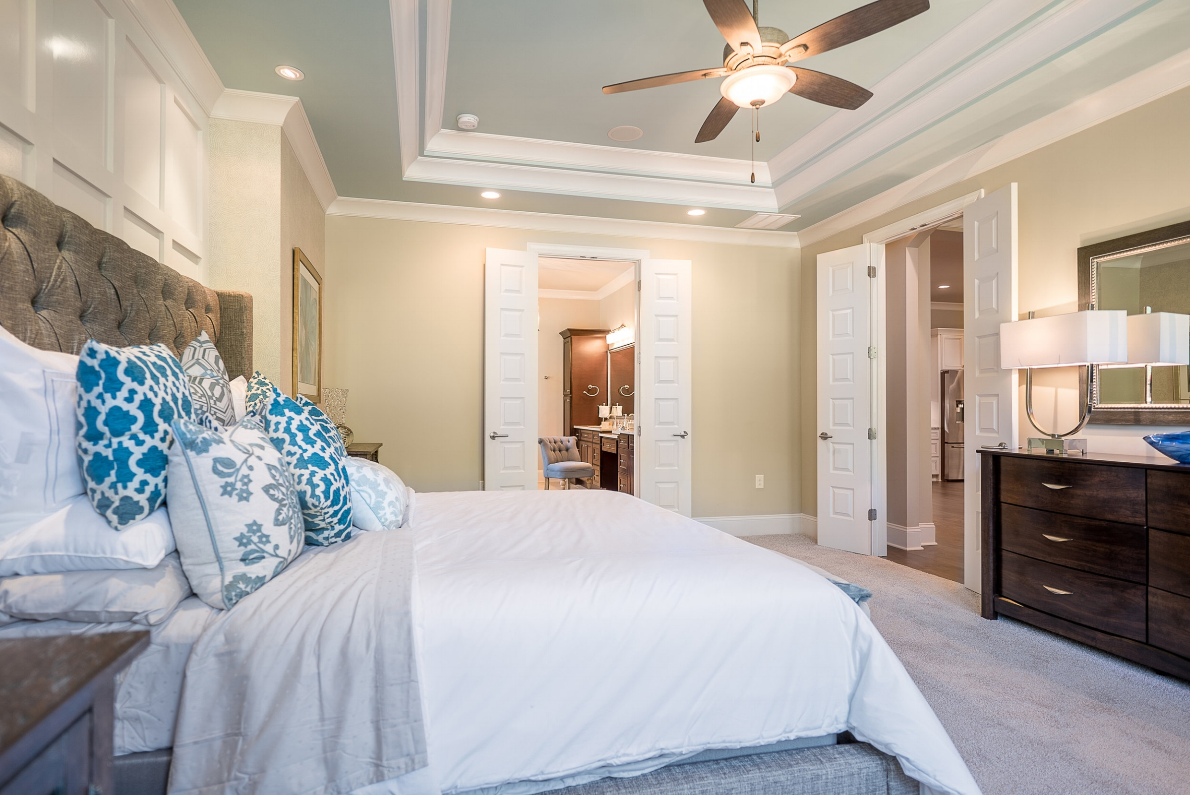 Master Bedroom off Living Area