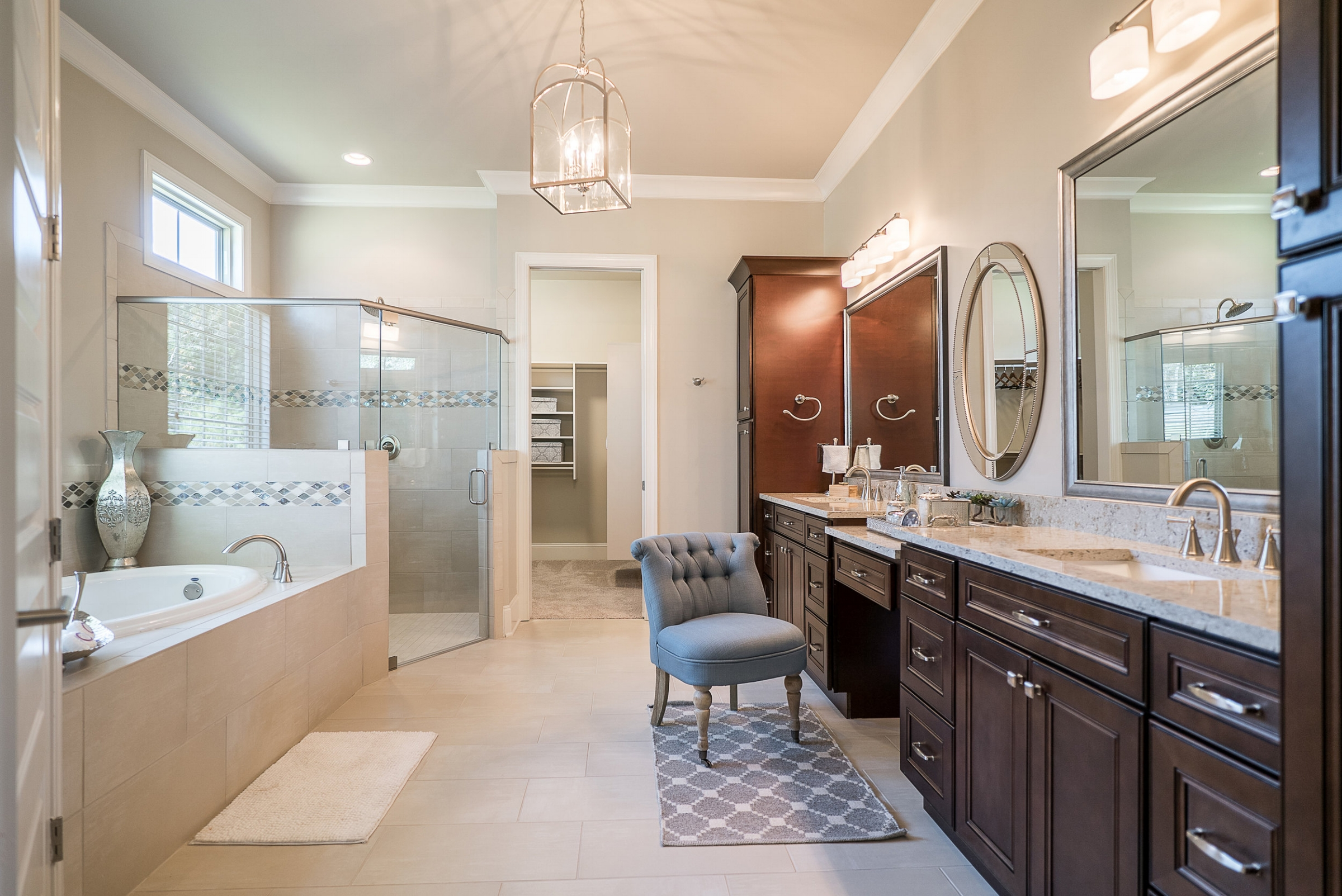 Master Bathroom with Garden Tub