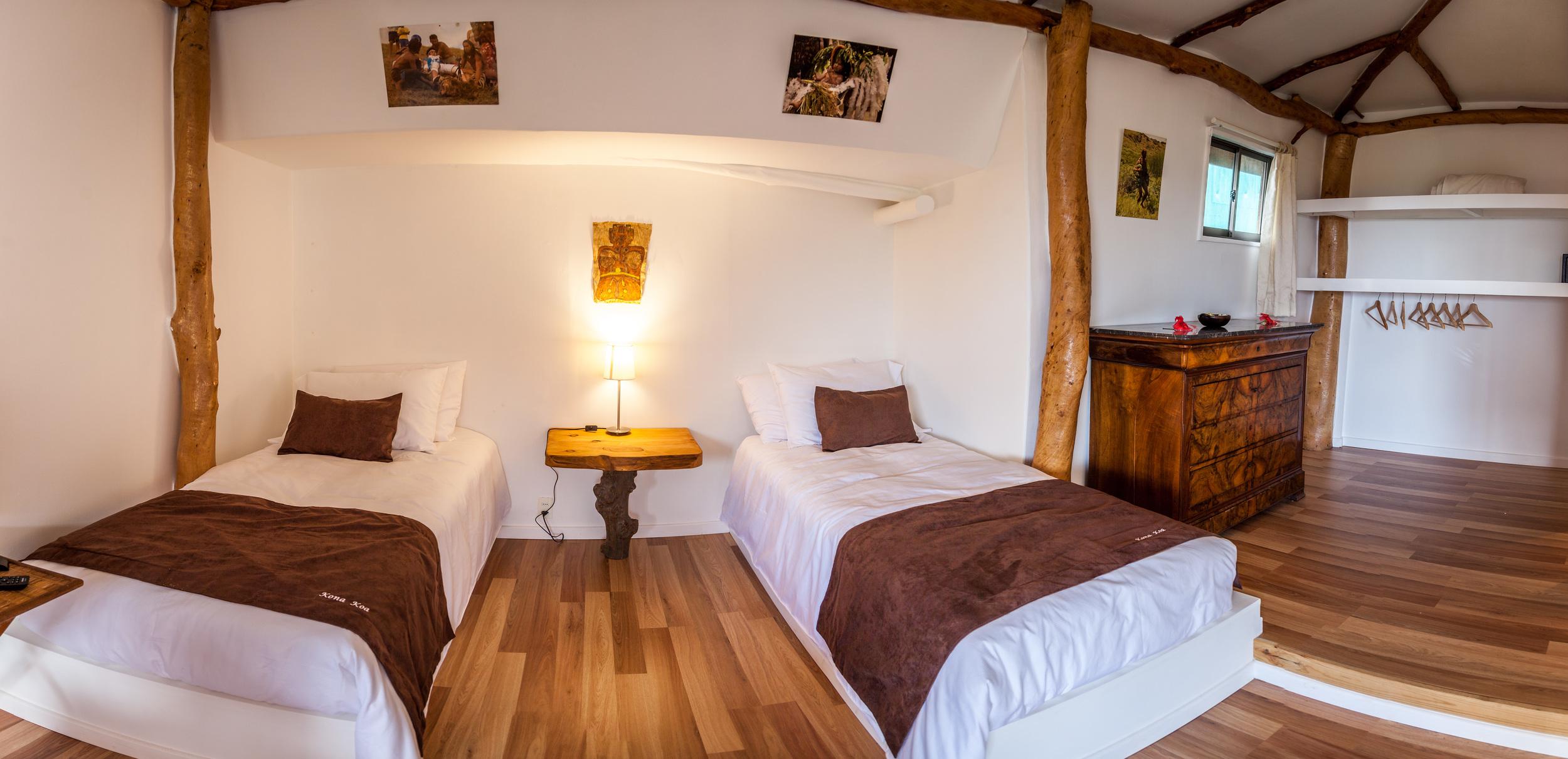 alojamiento en isla de pascua - Cabanas - Kona Koa Lodge 2