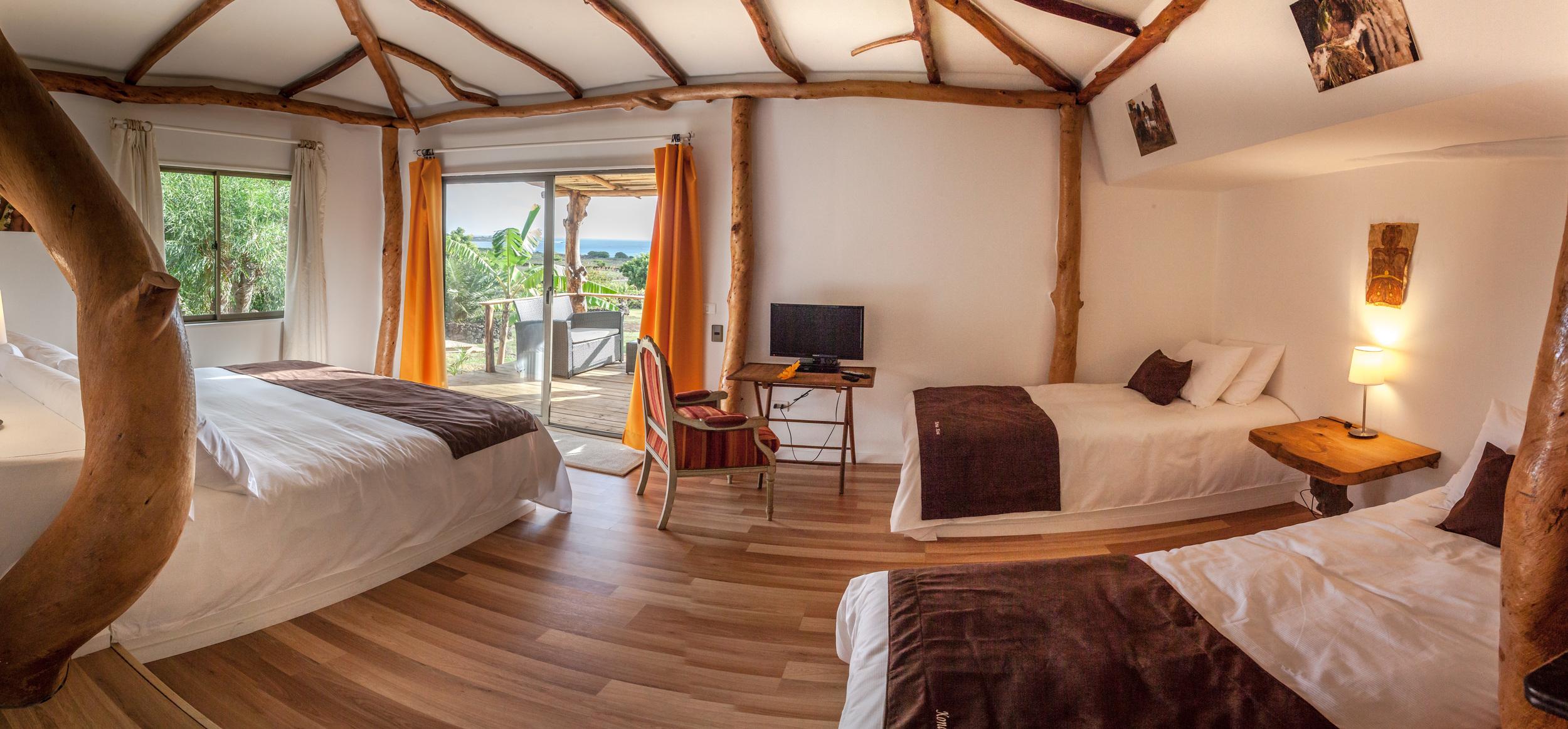 alojamiento en isla de pascua - Cabanas - Kona Koa Lodge 3