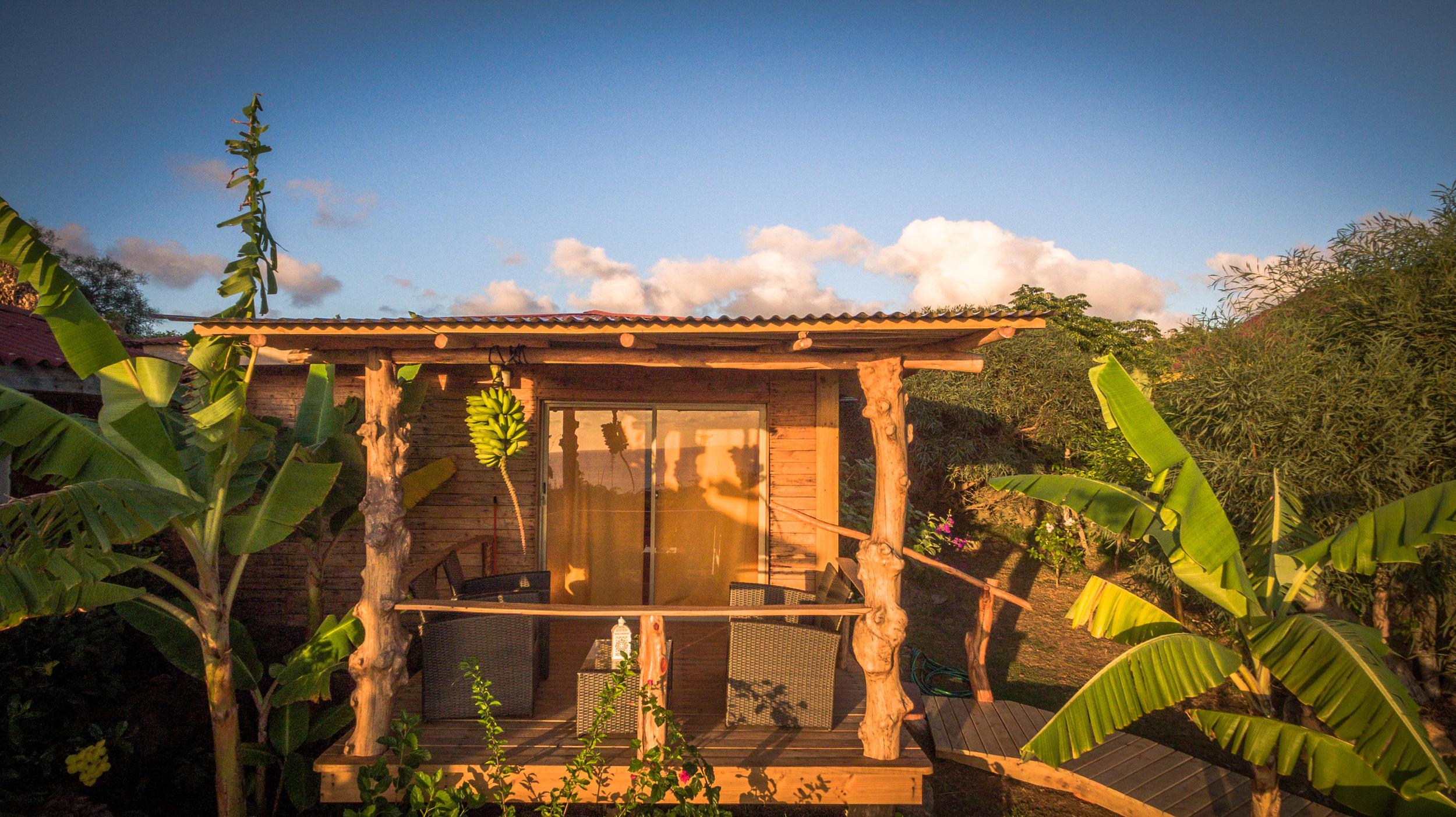 alojamiento en isla de pascua - Cabanas - Kona Koa Lodge 4