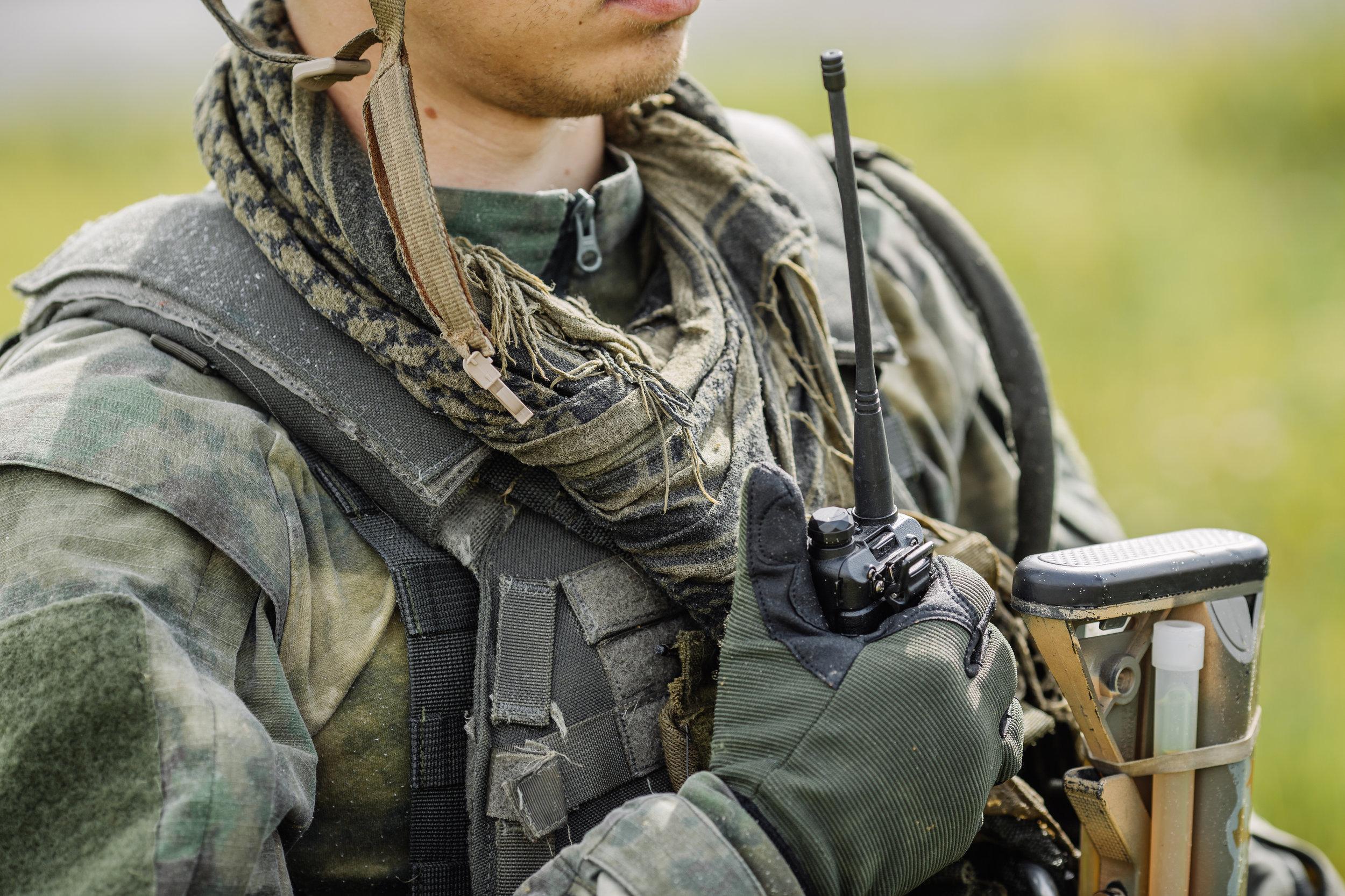 Kehitettyä tuotetta käytetään maanpuolustuksessa kommunikaation päätelaitteena